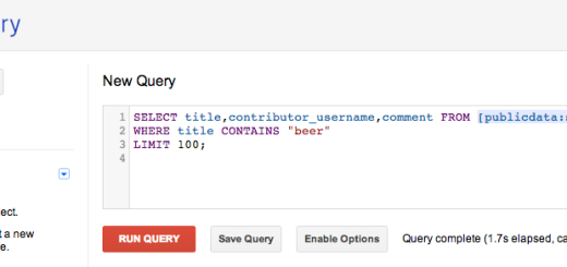 google big query R